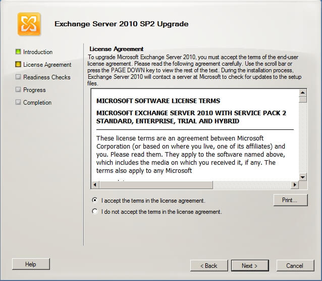 How to install Exchange 2010 SP2 on SBS 2011 - Oxford SBS Guy