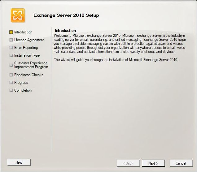 Microsoft Exchange 2010 Introduction