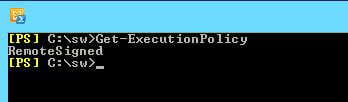 Get-ExecutionPolicy