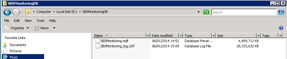 Very large sbsmonitoring_log.ldf file