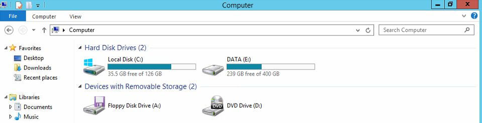 Data Deduplication after