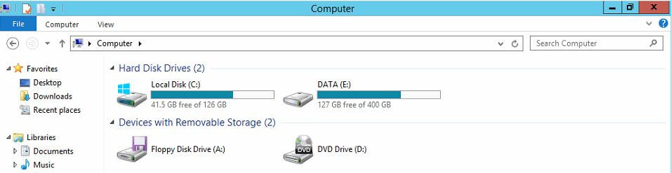 Data Deduplication before