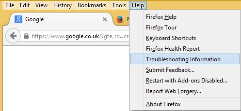 How to reset Firefox to default settings - Oxford SBS Guy
