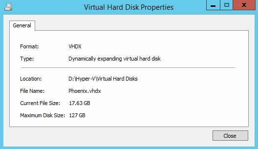 How to Inspect and Edit virtual disks in Hyper-V - Oxford