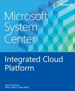 Microsoft System Center - Integrated Cloud Platform