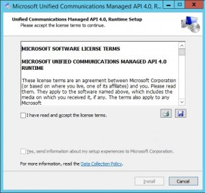 Microsoft Unified Communications Managed API 4.0 Runtime 2