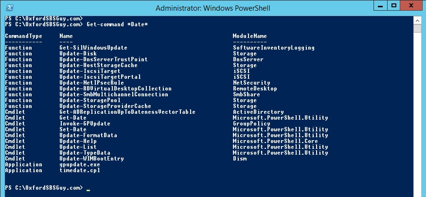 Powershell get date in Perth