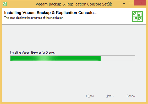 Installing Veeam Explorer for Oracle