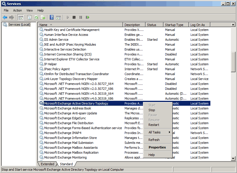 How To Resolve Microsoft Exchange Information Store Not