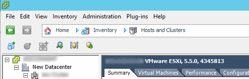 vsphere-client-vcenter-server-hosts-and-clusters-view
